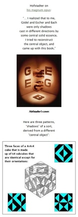 Hofstadter's GEB Cube and Solomon's Cube