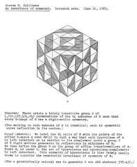 An invariance of symmetry - June 21, 1983