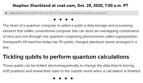 Honeywell H1 Quantum Computer Methods