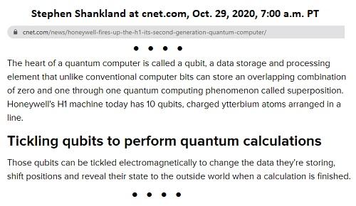 Honeywell H1 Quantum Computer Methods